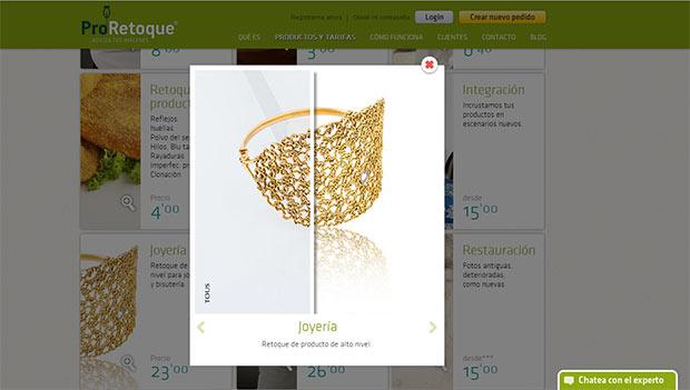 El retoque de joyería, un servicio especialmente demandado por los profesionales de la fotografía para eCommerce